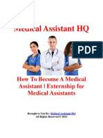 How to Become a Medical Assistant |Externship for Medical Assistants