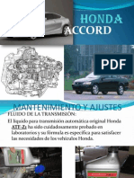 Manual Honda Accord
