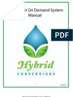 Hydrogen on Demand Full System Manual