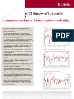 Westpac ACCI Survey of Industrial Trends - Q12012