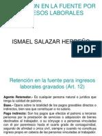 Ejemplo Retencion en La Fuente Salarios p1 y p2