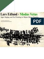 Lars Edlund_Modus Vetus