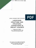 CP 116 (1965), Precast Concrete Code of Practice
