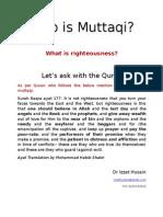 Who is Muttaqi?