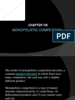 Monopolistic Competition (Group 8)
