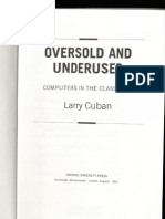 Oversold and Underused - Cuban