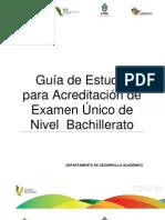 Guia de Estudios Examen Unico