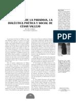 dialéctica poética y social en vallejo