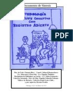 Metodología de Análisis con Registro Abierto