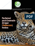 Plan Nacional Para La Conservacion Del Jaguar - Honduras