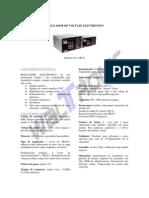 Regulador de Voltaje Electronico