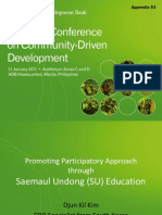 Appendix E4_Promoting Participatory Approach Through Saemaul Undong Education