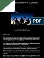 Tata Koordinat & Panjang Siang Malam
