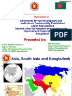 Appendix E6_BANGLADESH_Community Mobilization in UGIIP-2