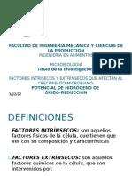Microorganismos aciduricos