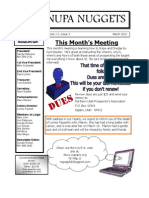 March 2012 NUPA Newsletter