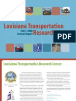 2007-2008 Louisiana Transportation Research Center (LTRC) Annual Report
