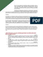 ALIMENTACION DE ADOLECENTES