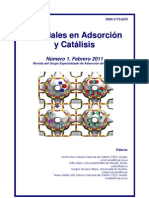 Num 1 Materiales en Adsorcion y Catalisis Feb2011