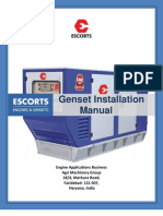 Genset Installation Manual
