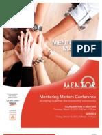 2012+Mentoring+Matters+Conference+BROCHURE