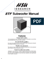 Hsu Research STF2 Subwoofer