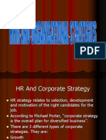 Chapter-3 Hrm and Organisational Strategies
