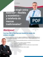 Xorcom IP PBX Brochure (Espanol)