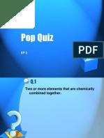 Pop Quiz EP2