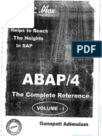 SAP ABAP the Complete Reference