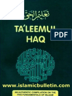 Taleemul haq 2008 Edition