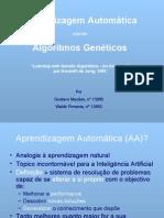 Aprendizagem Automática usando Algoritmos Genéticos