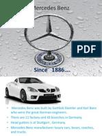 Mercedes Benz Ppt ,,,,,