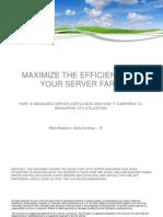 Höchste Effizienz für Ihre Serverfarm