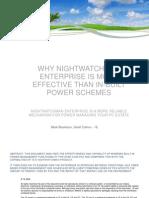 NightWatchman Enterprise ist effektiver als eingebaute Energielösungen.