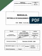 manualul calitatii modificat