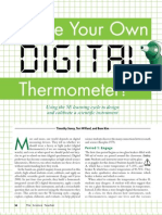 Make Your Own Digital Thermometer