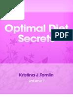 Bonus-Optimal Diet Secrets
