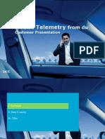 Telemetry Customer Presentation March 2009