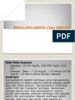 Seruloplasmin (Cp) Serum