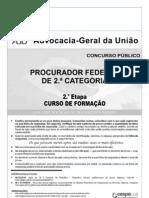 Prova - Proc Federal - Cf