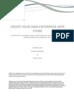 Richten Sie sich Ihren eigenen Enterprise App Store ein.