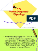 Roman Languages