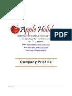 Apple Holidays Company Profile