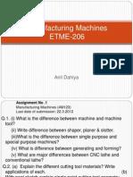 Presentation of Drilling Machine by Anil Dahiya Sir
