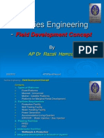 Facilities Engineering - Field Development Concept