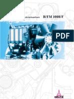 Werkstatthandbuch B-FM 1008-F Motoren