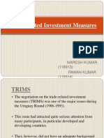 Trade Related Investment Measures