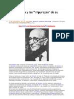 Kelsen y La Impureza de Su Teoria