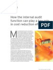 How IA Can Reduce Costs